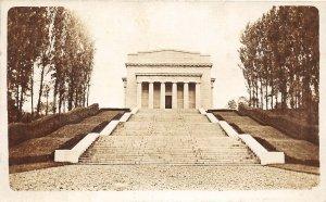 F80/ Minneapolis? Minnesota RPPC Postcard c1910 Monument Stairs