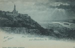 Gruss vom Rhein , Rudesheim a. Rh. , Germany , 1890s