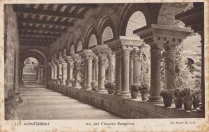 Postal 62334 : Montserrat. Ala del Claustro Romanico