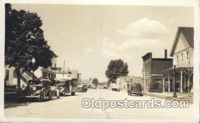 Ice Cream Delivery Truck, Onoway, Michigan Mich, USA Motel Hotel Postcard Pos...
