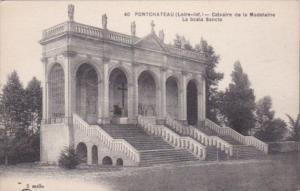 France Pont Chateau Calvaire de la Madeleine La Scala Sancta