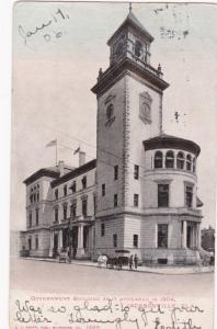 JACKSONVILLE, Florida, PU-1906; Government Building as it appeared in 1904