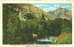 The Hermitage, Ogden Canyon, Utah, Union Pacific System u...