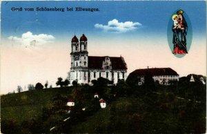 CPA AK Ellwangen – Gruss vom Schönenberg bei Ellwangen GERMANY (857238)