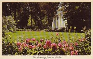 The Hermitage From The Garden Nashville Tennessee