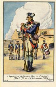 NY - Adirondacks. Fort Ticonderoga Series, 6th Pennsylvania Battalion #111A