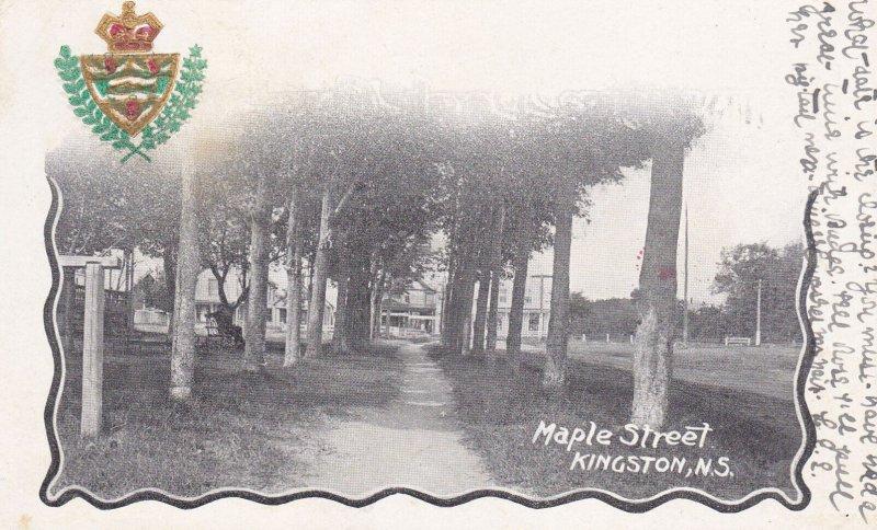 KINGSTON , Nova Scotia , Canada , PU-1906 ; Maple Street