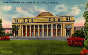 Tennessee Nashville Social Religious Building Peabody College 1943 Curteich