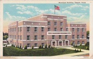 Texas Temple Municipal Building Curteich