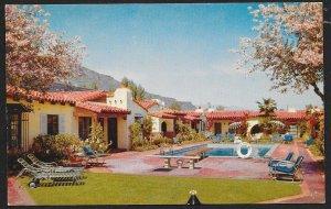 Orchid Tree Inn Palm Springs California Unused c1950s