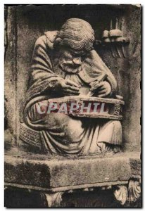 Old Postcard Cathedral Chartres Pythagoras