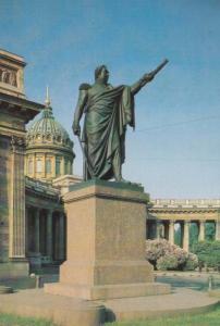 Leningrad 1837 Field Marshall Military Monument Gutuzov Russia Russian Postcard