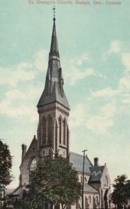 GUELPH, Ontario, 1900-10s ; St. George's Church, version 2