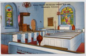 Interior Old Swedes Church, Wilmington DE