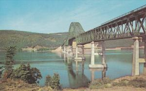 The Bras d'Or Bridge on Trans Canada Highway Victoria County, Cape Breton, No...