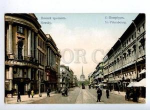 163492 Russia ST. PETERSBURG Nevsky Prospekt TRAM Shops OLD PC