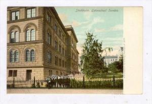 Stockholm , Sweden , 1890s-1905 Latin School