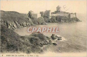 Old Postcard Fort la Latte Fort