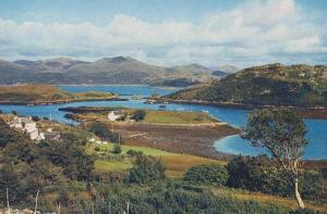 Badachro Anchorage Gairloch Mint Scottish 1970s Postcard