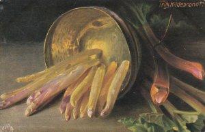 AS; Fritz Hilderbrandt, TUCK # 9669, Still Life, 1900-10s