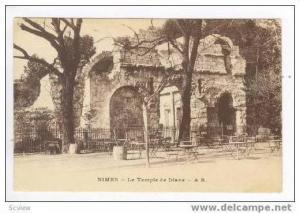Le Temple de Diane, Nimes, France, 00-10s