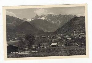RP  Schruns m. Zimbaspitze, Vorarlberg, Austria, 1910-40s