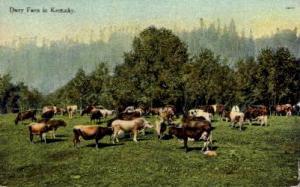 Dairy Farm Lexington KY 1911