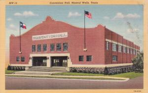 MINERAL WELLS , Texas, 1930-40s : Convention Hall
