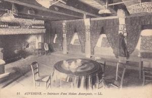 AUVERGNE, France; Interieure d'une Maison Auvergnate, 00-10s