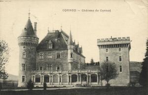 CPA CORNOD Chateau de CORNOD (150271)