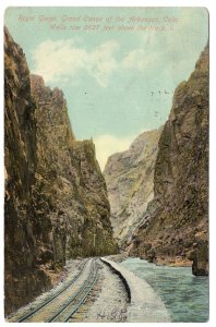 Royal Gorge, Grand Canon of the Arkansas, Colo.