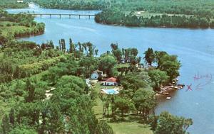 Canada - Ontario, Campbellford, Woodland Estate, Healey Falls