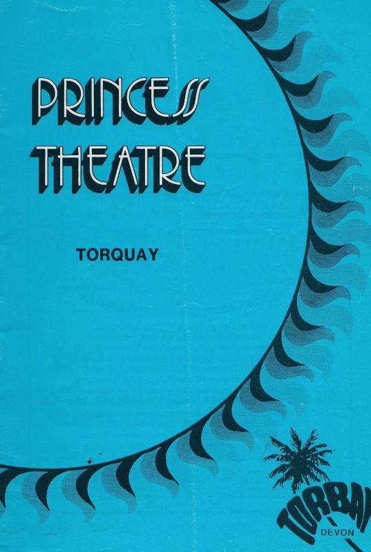 Cilla Black Live from Torquay 1978 Theatre Programme