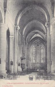 Cite De Carcassonne , France , 00-10s ; Cathedrale St Nazaire - Nef principale