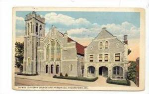 Trinity Lutheran Church & Parsonage,Hagerstown,MD,1924