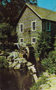 Old Grist Mill Stony Brook At Brewster Cape Cod Massachusetts
