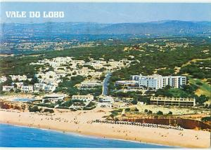 Vale Do Lobo Portugal Aerial View Beach Coast Hotels Swimmers  Postcard  # 7778