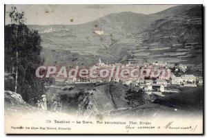 Old Postcard Dauphine La Grave Panoramic