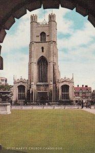 CAMBRIDGE, Cambridgeshire, England, 1950-1960s; GT. ST. Mary's Church
