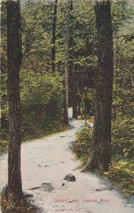 LANSING , Michigan, 1908 ; Lovers' Lane