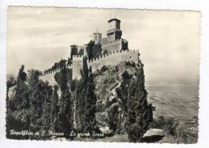 RP Republica di S Marino - La prima Torre, PU 1956