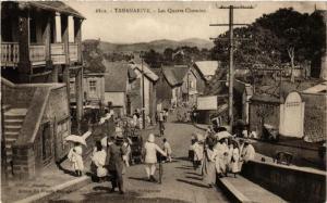 CPA Tananarive. Les Quatre chemins. MADAGASCAR (626013)