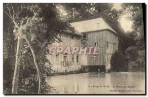 Postcard Old water mill Camp Mailly The mill Trouan