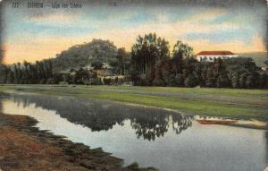 Portugal Coimbra Lapa des Esteios River Panorama Postcard