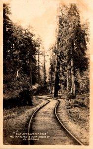 California Mt Tamalpais & Muir Woods Railway The Crookedest Road ...