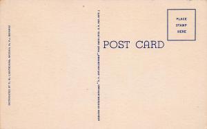 Gregory Arch, Nassau, Bahamas, Early Linen Postcard, Unused
