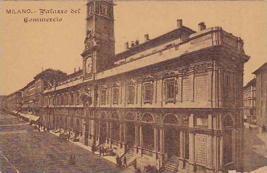 Milano , Italy , 00-10s ; Palazzo del Commercio