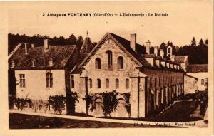 CPA Abbaye de FONTENAY (Cote-d'Or) - L'Entermerie - Le Dortoir (354141)