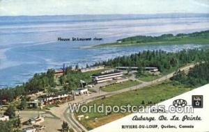 Quebec Canada, du Canada Motel Auberge De La Pointe, Riviere Du Loup  Motel A...