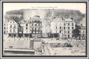 France - Battle of Chateau-Thierry WWI Second Battle of The Marne - [FG-004]
